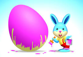 easter egg with bunny u2013 happy easter 2017