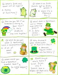 st s day jokes limericks riddles one liners