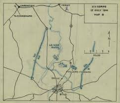 Fort Benning Map Battle Narrative 134th Infantry 3rd Battalion St Lo France