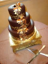 wedding cake rolled chocolate fondant hand lustred edible gold