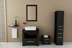 Small Bathroom Vanities And Sinks by Avola 32 Inch Vessel Sink Bathroom Vanity Espresso Finish