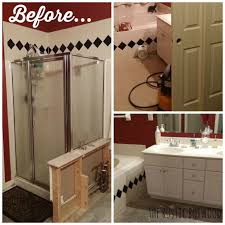 Rustic Farmhouse Bathroom - farmhouse bathroom makeover rustic bathroom remodel