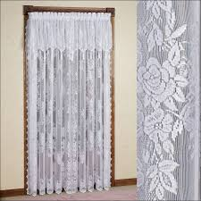 living room fabulous fabric shower curtains country tie back