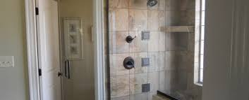 Winston Shower Door Conrad Inc General Contractor Clemmons And Winston Salem Nc