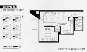 one bedroom floor plans garrison point condos preconstruction fort york condo