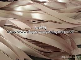 cheap ribbon 60 cm silk pink ribbon jewelry packaging gift bags silk pink
