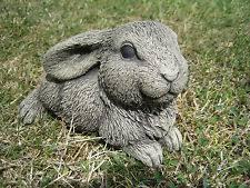 rabbits garden ornaments ebay
