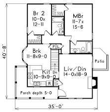 2 bedroom cottage house plans house plans home plans and floor plans from ultimate plans