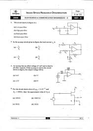 isro electrical and electronics previous year question papers