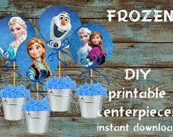 frozen centerpiece etsy