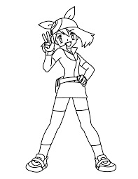 pokemon coloring pages misty coloring page tv series coloring page pokemon advanced picgifs com