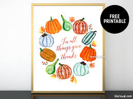 decorations a free thanksgiving printable blursbyai