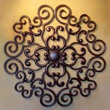 bronze wrought iron wall decor elegant wrought iron wall decor