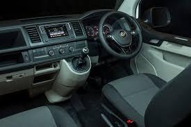volkswagen van 2016 interior vw transporter still king of the load road tests driven