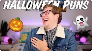 amazing halloween puns evan edinger youtube