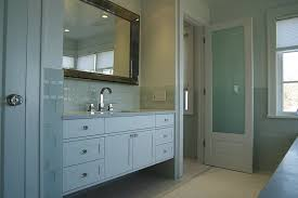 bathroom door ideas wood framed bathroom door with frosted glass interior home doors