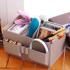 Makeup Organizer Desk by Hot Sale Practical Cute Plastic Office Desktop Storage Boxes