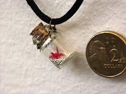 bottle necklace images Crane in a bottle necklace c by ayukat jpg