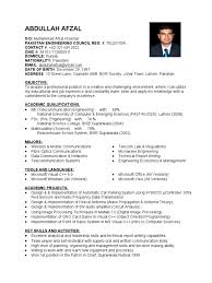 Communication Skills Examples For Resume by Sample Resume For Telecom Engineer Free Resume Example And