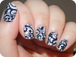 nail art design strips how you can do it at home pictures