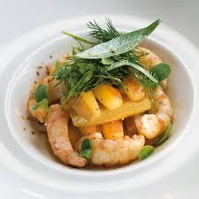 recette de cuisine a base de pomme de terre pommes de terre chérie sautées aux langoustines cuisine