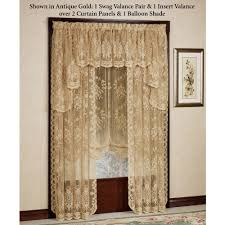 How To Hang Curtain Swags by Fiona Scottish Lace Window Treatment