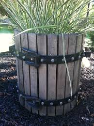 diy wine barrel planters ideas wine barrel planters ideas