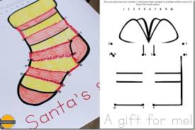 free christmas dot to dot coloring pages
