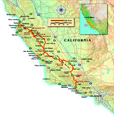 California Zip Code Map by Salinas California Map California Map