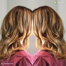 aveda haircuts 2015 caramel blonde highlights brunette hair medium hair cuts wavy