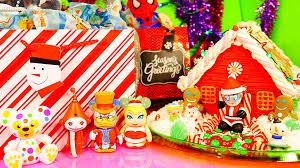 surprise christmas ornaments videos spiderman mlp gingerbread