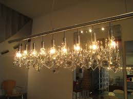 Florian Crystal Chandelier Decorating Elegant Project With Stylish Linear Chandelier