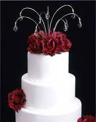 wedding cake jewelry cake toppers wedding favors