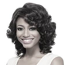 short hairstyle wigs for black women amazon com yx short curly hair wig for black women african