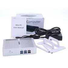 petit pc de bureau intel nuc 12 v fanless i3 5005u mini pc ordinateurs x86 win10
