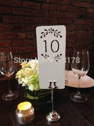 table numbers wedding floral laser cut table numbers wedding place settings personalized