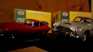 Classic Sports Cars - atlas editions classic sports cars jag e type and aston db5