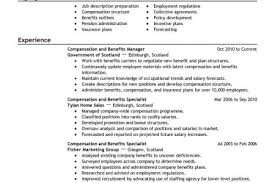 Sample Resume Human Resources by Employee Benefits Director Resume Sample Reentrycorps