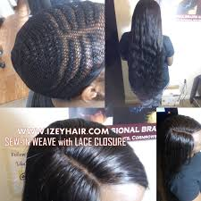 hair braid for a closure sew in weave with lace closure izeyhair com sew ins pinterest