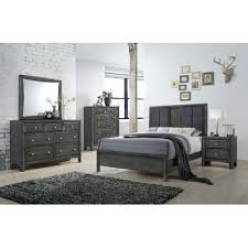 queen cherry bedroom set by lifestyle furniture mattress sets