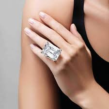 20000 engagement ring most beautiful emerald cut ings in the world the