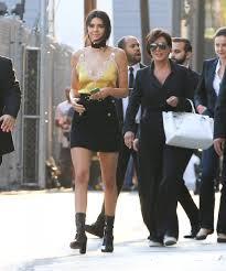 Kris Jenner Live - kris jenner and kendall jenner photos photos celebrities visit