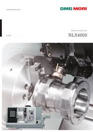 nlx4000 dmg mori pdf catalogue technical documentation