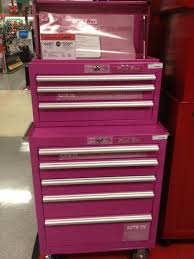 pink craftsman tool box at sears a handy u0027s dream for the