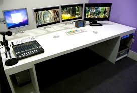 decoration awesome woodwork custom computer desk plans for