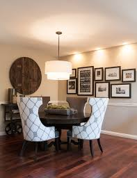 Dining Room Drum Pendant Lighting White Frame Collage Dining Room Transitional With Tiered Drum