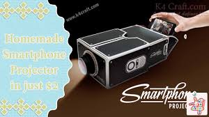 diy learn to make homemade smartphone projector in just 2 10