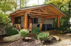 creekside 2 bedroom cabin at parkside cabin rentals
