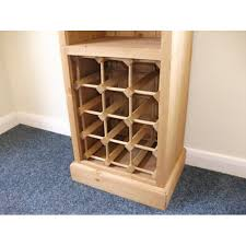 wine rack with bookcase
