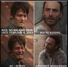 Rick Grimes Crying Meme - i fully admit i never get over the use of happy sad daryl rick